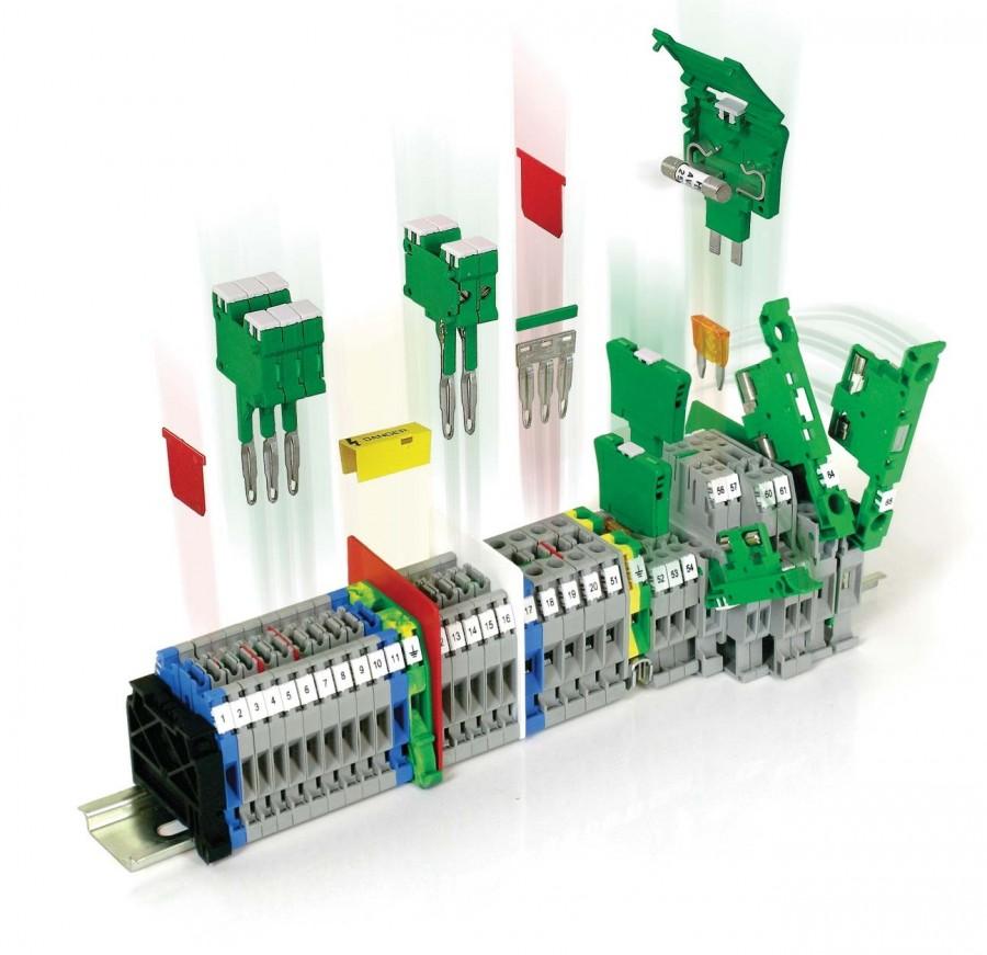 Изделия для соединения, оконцевания, изоляции, маркировки и фиксации кабелей